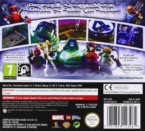 Zoom IMG-1 lego marvel super heroes standard