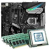 Intel Core i7-7700K / ASUS STRIX Z270F GAMING Mainboard Bundle / 32GB | CSL PC Aufrüstkit | Intel Core i7-7700K 4x 4200 MHz, 32GB RAM, Intel HD Graphics 630, GigLAN, 7.1 Sound, USB 3.1 Gen 2 | PC Tuning Kit