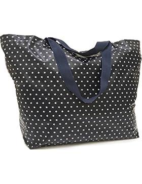 Sugarbag - XXL Shopper, große Strandtasche, Schultertasche, Badetasche in verschiedenen Farben