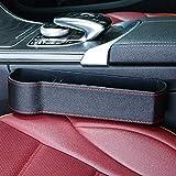 zhangyu - Scatola portaoggetti Multifunzione per Auto, con Morsetto per seggiolino Auto Black Master Driving Upgrade Leather