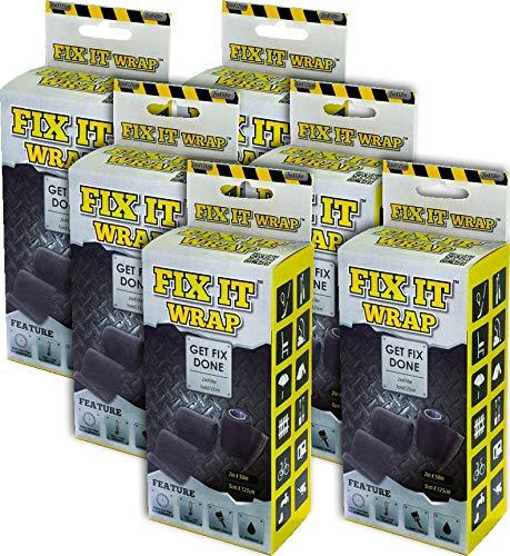 (Pack of 6) Fix It Wrap Strong Fiberglass Repair Tape 2