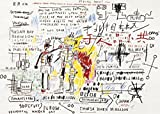 Jean-Michel Basquiat – Boxer Rebellion 1982-83 Poster Drucken (20,96 x 14,94 cm)