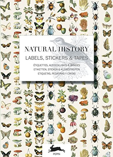 Natural History: Label & Sticker Book por Pepin Van Roojen
