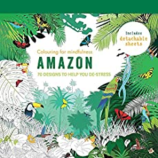 Amazon: 70 Designs to Help you De-Stress (Colouring for Mindfulness)