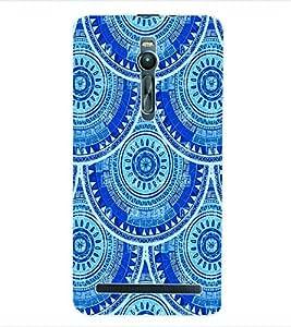 ColourCraft Tribal Pattern Back Case Cover for ASUS ZENFONE 2 ZE551ML