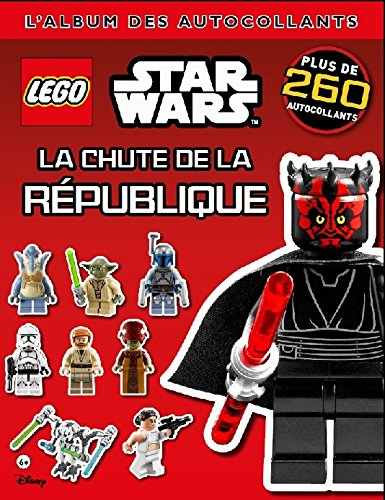 Lego Star Wars, l'album des autocollants 7, la chute de la République