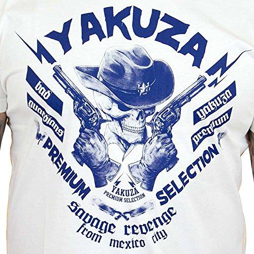 Yakuza Premium T-Shirt 2200 natur Weiß
