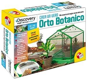 Liscianigiochi 35465 Discovery - Juego de creación de huerto botánico Importado de Italia