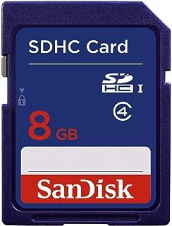 SanDisk 8 GB Class 4 SDHC Memory Card  SDSDB 008G B35