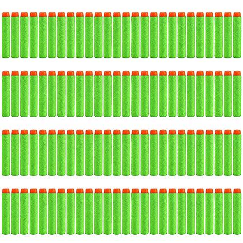 StillCool Nerf Darts 7.2cm 200 Stück Foam Pfeile Patronen für N-Strike Elite Series Longstrike Longshot Vulcan Spielzeug Stampede Minigun Recon scharfschützengewehr Zubehör (Ohne Bandolier )