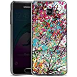 Samsung Galaxy A3 (2016) Housse Étui Protection Coque Feuilles couleurs Printemps