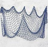 Yinew Party Bar Decor Fishing Net Wall Hangings Fish Netting Decoration