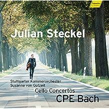 C.Ph.E. Bach: Cellokonzerte