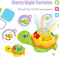 US1984 2018 New Arrival Children LED Flashing Electric Turtle with Music Can Walk Rotate Kids Electronic Pets Best Birthday Gifts