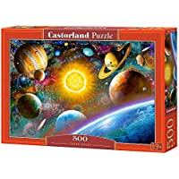 "Castorland ""Outer Space"" Jigsaw Puzzle (500-Piece, Multi-Colour)"