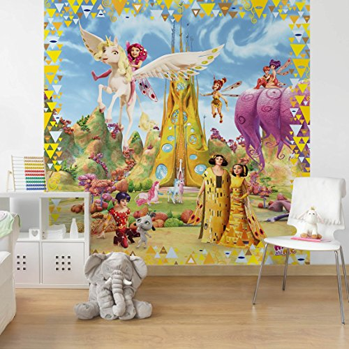 papier-peint-intisse-mia-and-me-with-royalty-mural-carre-papier-peint-photo-intisse-tableau-mural-ph