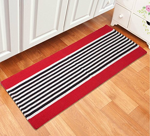 Saral Home Rugs - Red