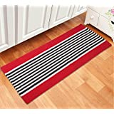 Saral Home Soft Cotton Multi Purpose Runner -45x120 cm, Red