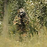 Frau Männer Camouflage Kleidung Ghillie Anzug Dschungel Camouflage Kleidung für Jagd Schießen Birdwatching Test