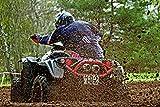 Wandbild 200x115cm MOTOCROSS Fototapete Poster XXL Tapete Rennen Sport ATV Quads WA53