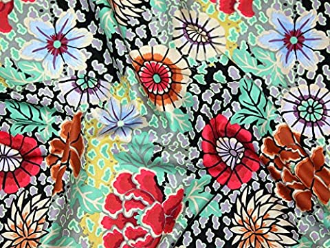 Rowan Kaffe Fassett Spring 2015Dream Popeline Quilting Stoff grau–Pro Fat Quarter + Frei Minerva Crafts Craft Guide