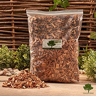 Smoking Wood Chips 4.5 Litre - Smoking Food in a Smoker/BBQ - Kiln Dried - Fast
