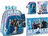 Die Eiskönigin Rucksack, Koffer, XL Federmäppchen und Geschenkset, blau