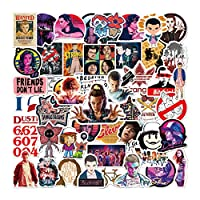 50 pcs Stranger Things Sticker Funny Waterproof Vinyl Stickers for Laptops, Hydro Flasks,Water Bottles,Computers,Phone,Skateboard