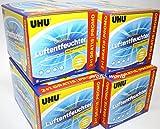 UHU Luftentfeuchter Nachfüllbeutel 12 x 450g ( 4 Pack 2+1) AIR-MAX PROMO-Pack - Neue Aufmachung - bewährte Qualität