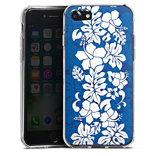 Apple iPhone X Silikon Hülle Case Schutzhülle Flower Muster Ornament Silikon Case transparent