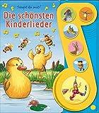 Die schönsten Kinderlieder - Liederbuch mit Sound: Pappbilderbuch mit 6 Melodien
