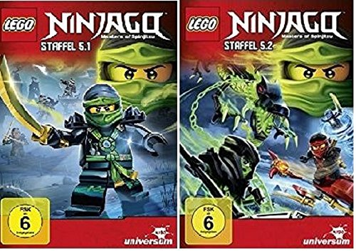 Lego Ninjago Staffel 5.1+5.2 / DVD Set / Die komplette Staffel 5
