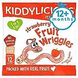 Kiddylicious Strawberry Fruit Wriggles 12G