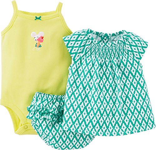 carters-completino-bebe-femminuccia-verde-green-yellow