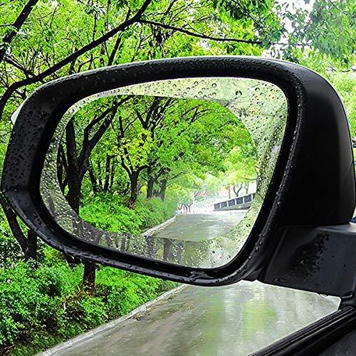 2 Stücke Regendicht Wasserdicht Auto Rückspiegel Film Blendschutz Nebel Nebel Beschichtung Schutzfolie (Color : 15 * 10cm)