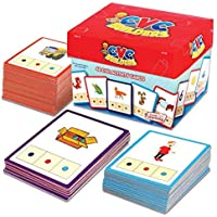 Junior Learning CVC Word Builders Activity Cards by Junior Learning