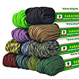 Best Paracords - Wealpe 9 Strand Paracord 4mm Parachute Cord 31m Review