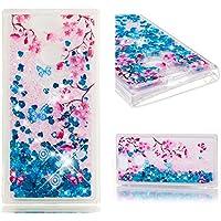 Everainy Sony Xperia XA2 Hülle Silikon Transparent 3D Flüssig Glitzer Wasser Durchsichtig Stoßstange Gummi Cover... preisvergleich bei billige-tabletten.eu