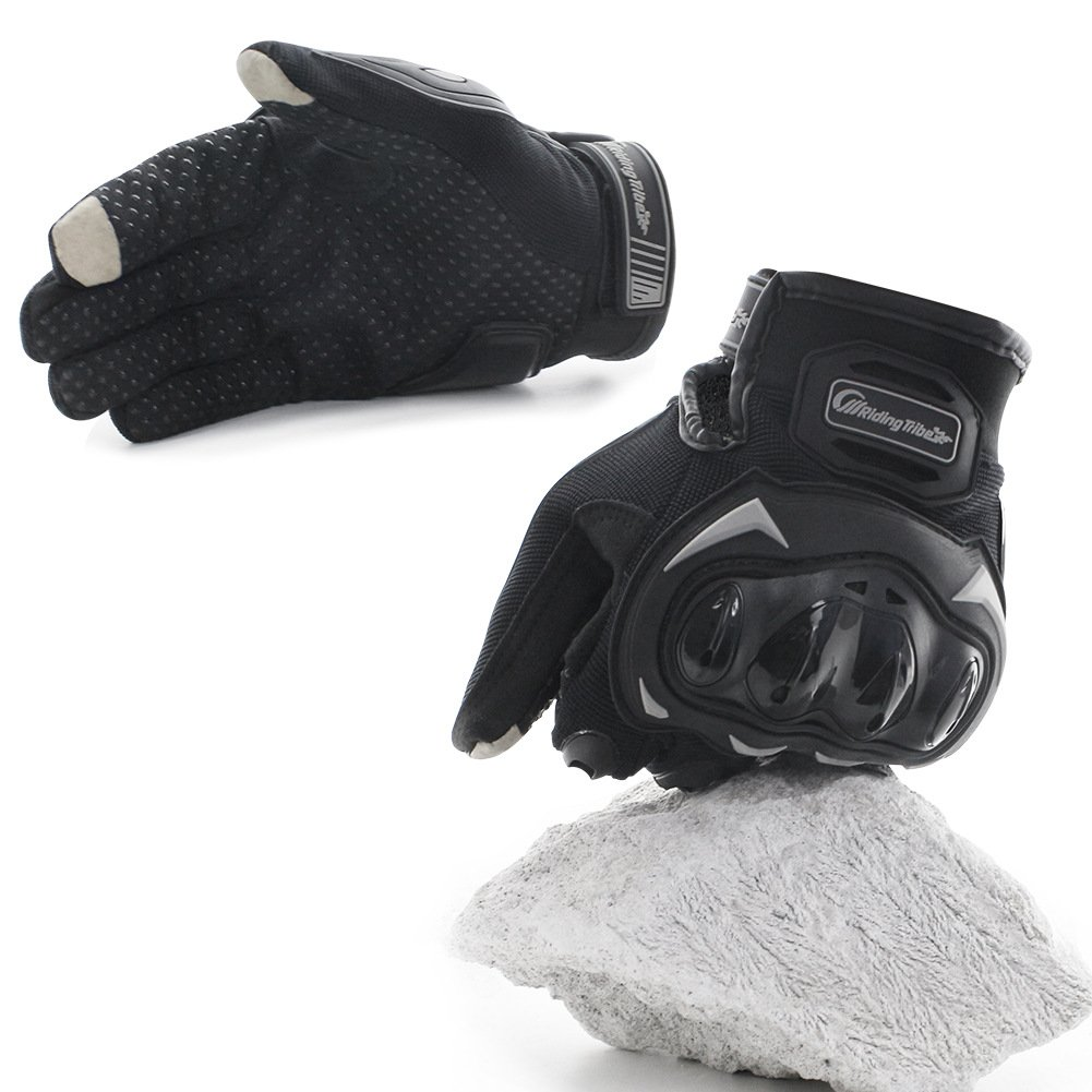 COFIT Guantes de Motos, Guantes de Pantalla Táctil Full Touch para Carreras de Motos, MTB, Escalada, Senderismo y Otros Deportes al Aire Libre – M/L/XL