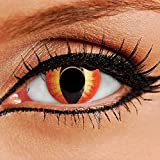 Lentilles de contact couleur annuelle - ColourVUE Crazy Lens (sans  correction) 4df51d4fc1fd