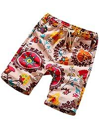 LSHEL Traje de Baño Pantalones Cortos para Hombre de Natación Playa Piscina Pantalones Casuales de Los Hombres