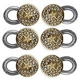 Faleto 2X Wunderknöpfe Hosenknopfverlängerung Hosenbunderweiterung Wunder Button Extender Bunderweiterung Erweiterung für Hosen Jeans Röcke (Set 03, 03 * 3)
