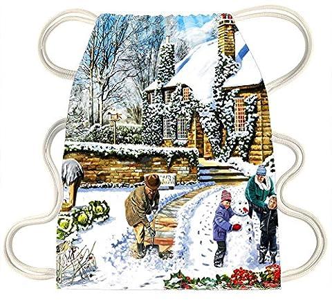 iRocket - Winter 2 - Drawstring Backpack Sack