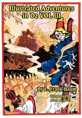 Illustrated Adventures in Oz Vol III Cover Image