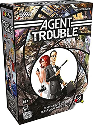Gigamic - JHAT - Jeu d'ambiance - Agent Trouble