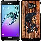 Coque pour Samsung Galaxy A3 2016 (SM-A310) - Tête Amérindienne by hera56