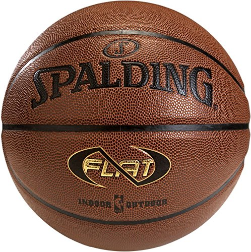 Spalding Ball Neverflat In/Out 74-764Z Basketball, orange, 7 -