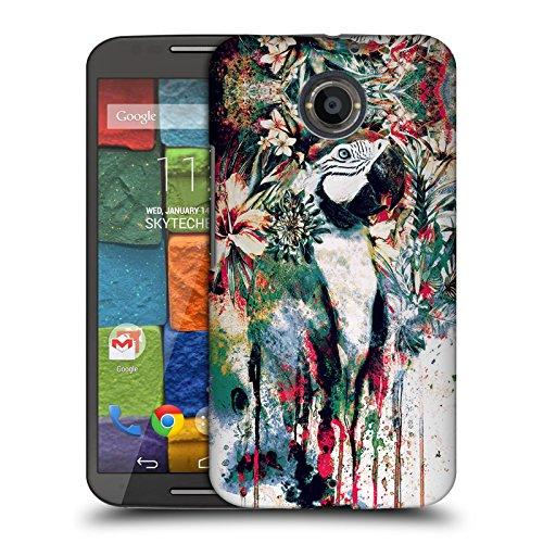 Official Riza Peker Parrot Animals Hard Back Case for Motorola Moto X...