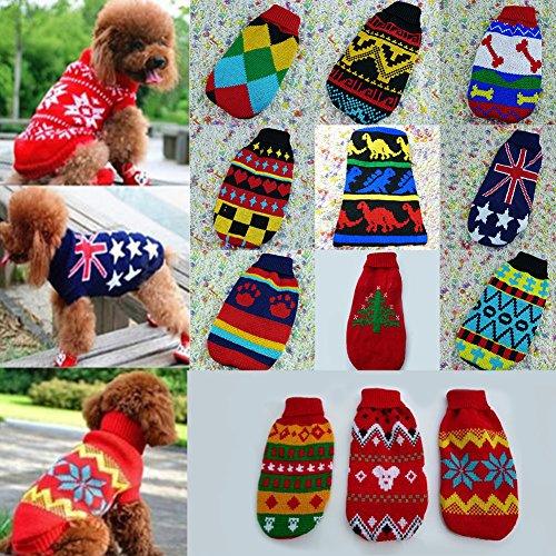 Süsse Haustier Warm Coat, woopower Hund Katze Kleidung Pullover Knit Sweater Small Pet Pullover Strickwaren Kostüm ()