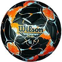 Wilson Rebar Ng Pelota de Fútbol, Unisex Adulto, Blue/Orange, Talla Única